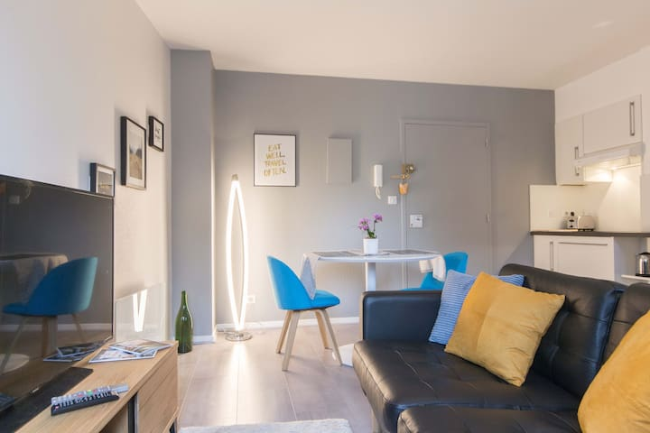 Mini-Loft in the City-Center Dijon with view ! - Dijon - Huoneisto