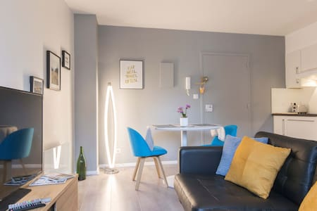 Mini-Loft in the City-Center Dijon with view ! - 第戎 - 公寓