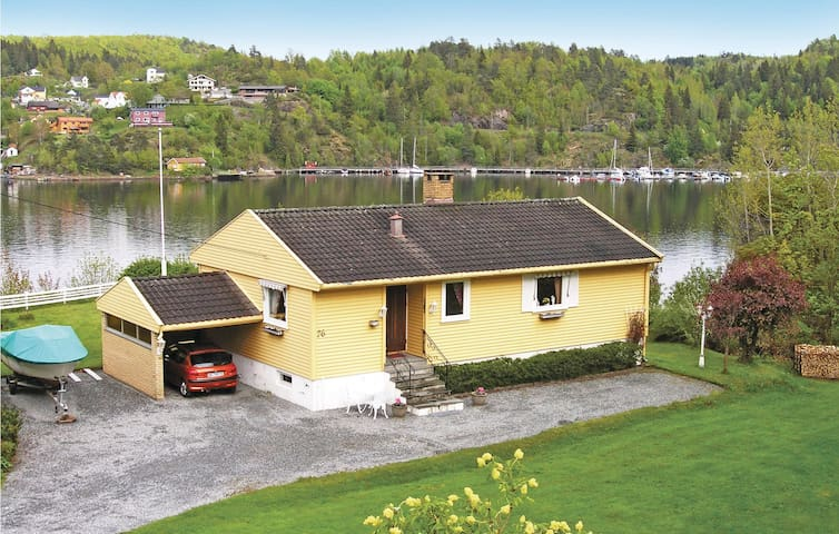 Holiday cottage with 2 bedrooms on 98m² in Langangen