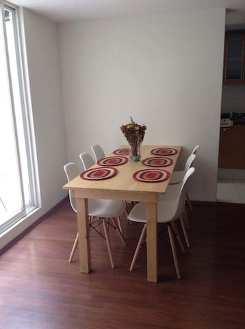 New & Confortable apartment in Colonia del Valle