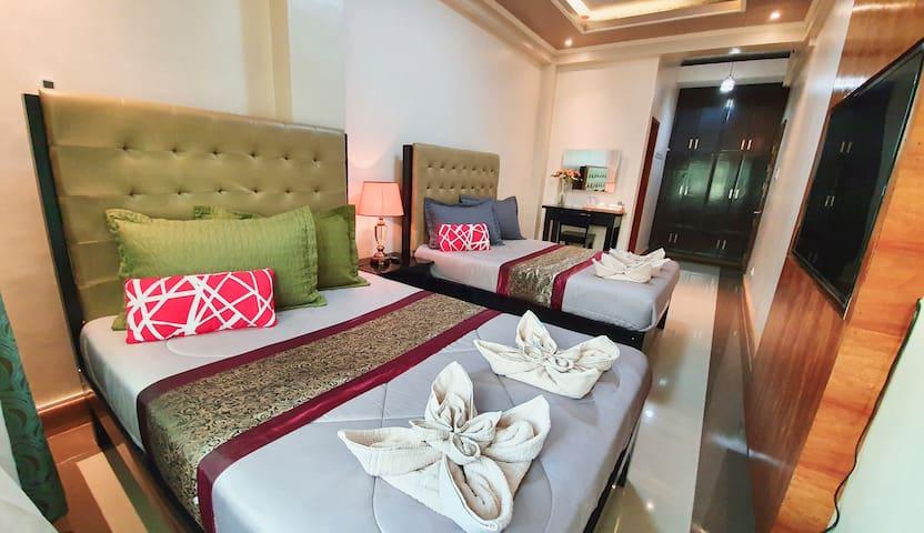 Piscana Resort: 1 Bedroom with 2 Double Beds
