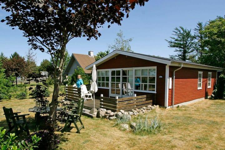 Casa de vacaciones tranquila en Fionia Dinamarca con terraza
