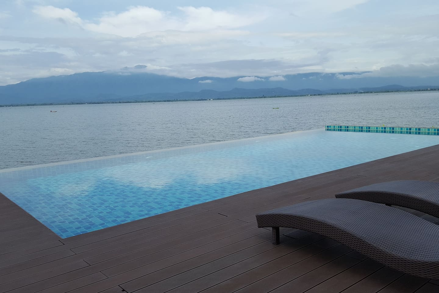 Beautiful view from swimming pool/ garden