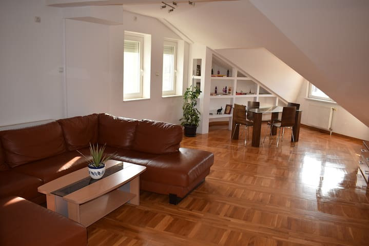 Penthouse in Subotica City Center - Subotica - Apartment