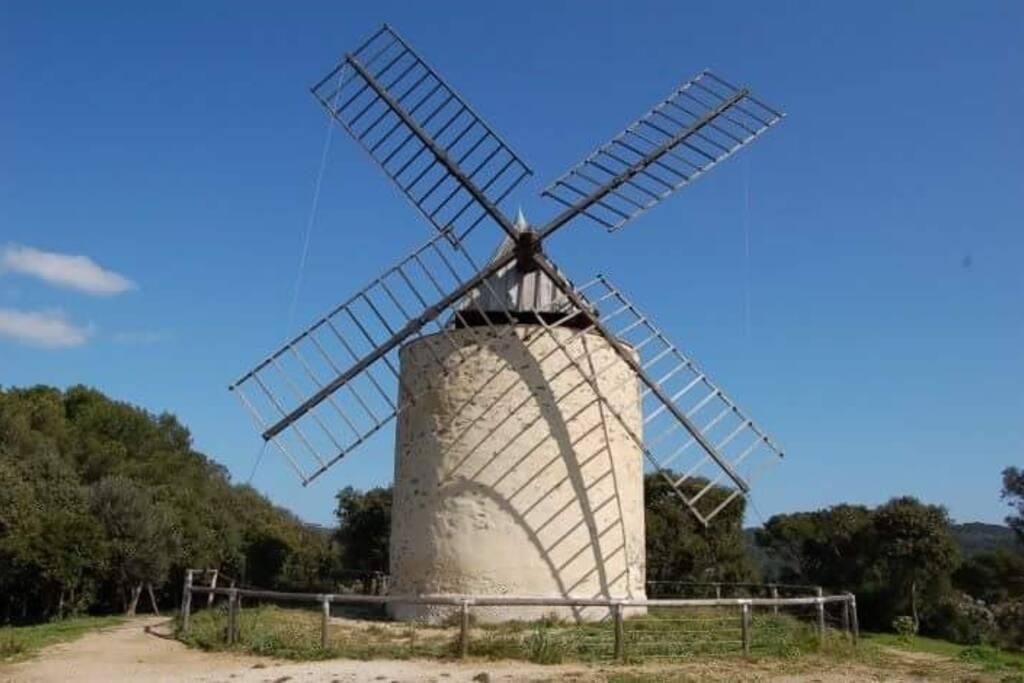 le moulin du bonheur datant du XVIII siècle