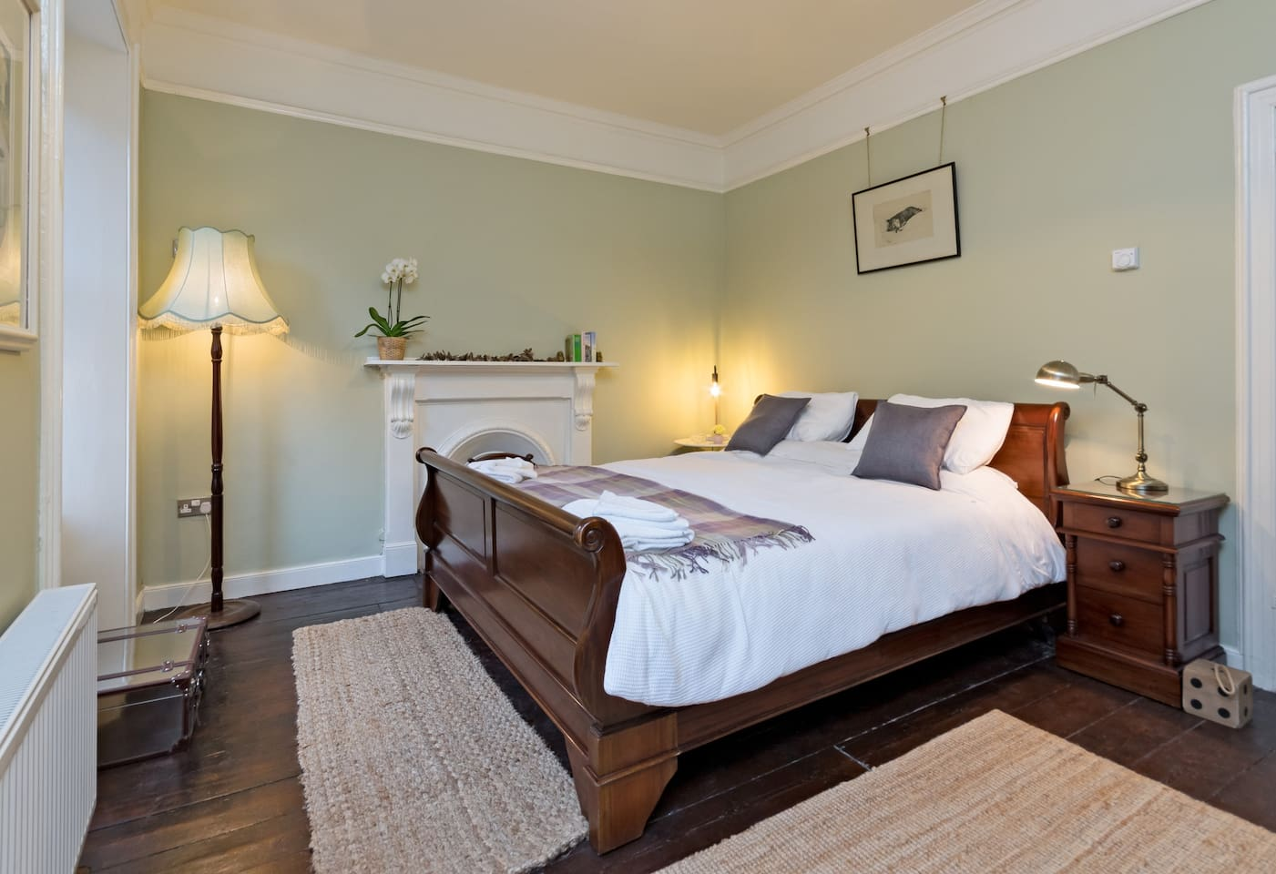 The Chimes Luxury Super King Bedroom