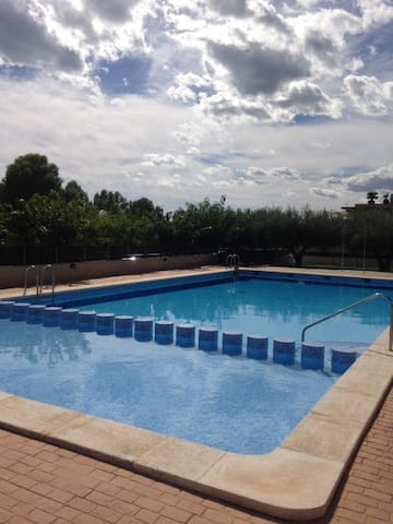 Apartment close to the sea + pool - Alcanar - Appartement