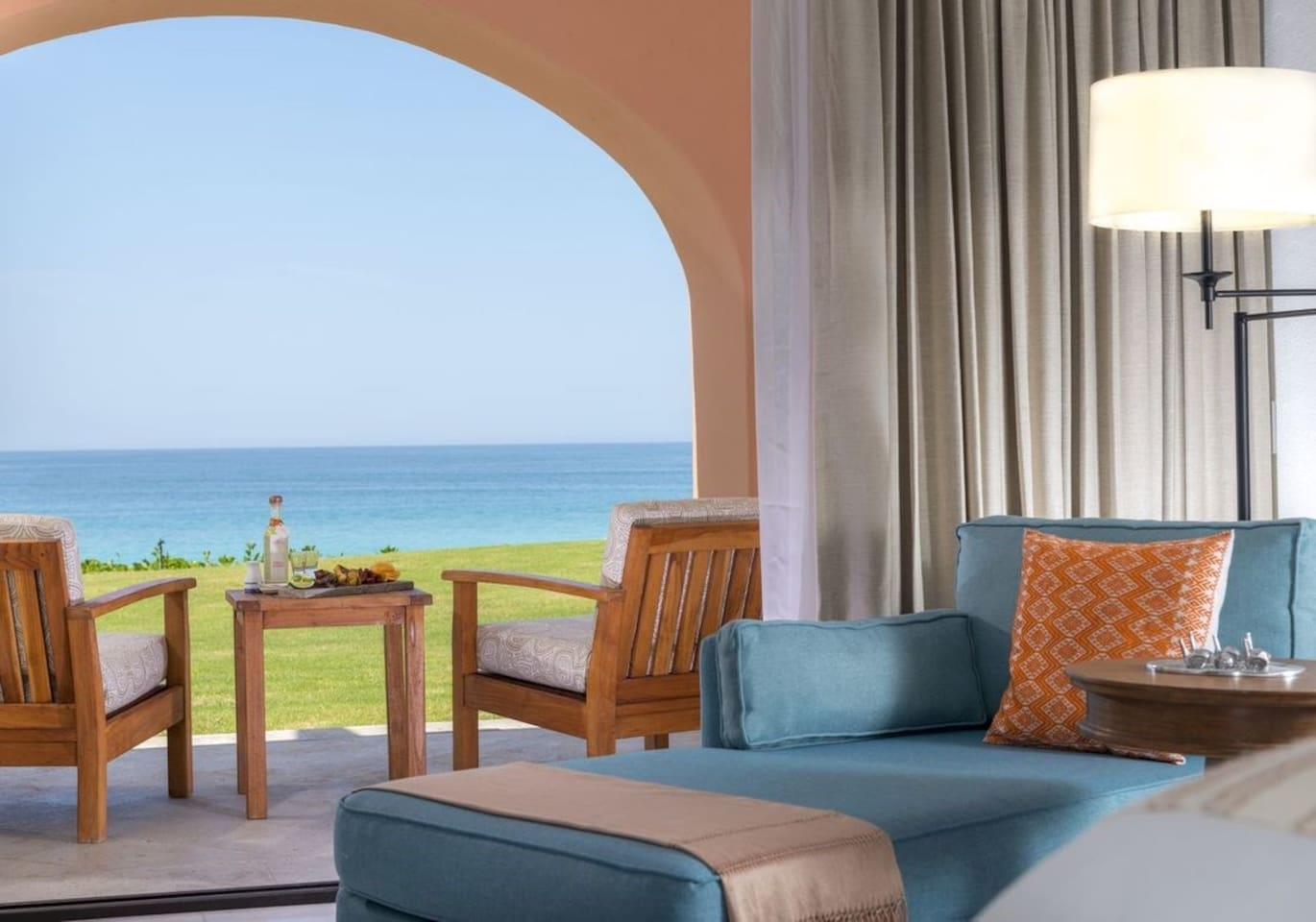 Sit back and relax in our bright and elegant Los Cabos Retreat with ocean views!