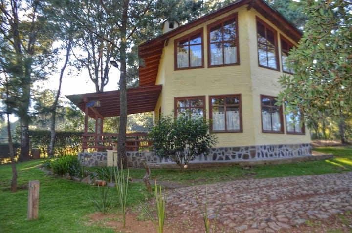 Cabańa orquidea para 8 pers en villas Guízar
