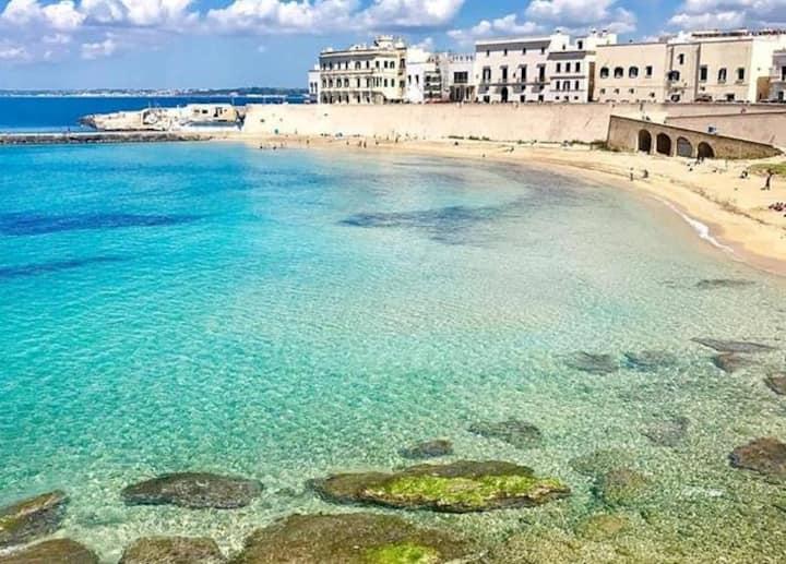 Gallipoli centro storico a 150 mt. dalla spiaggia