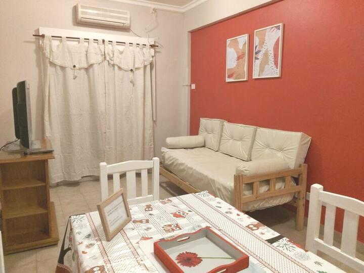 Departamento,buena ubicación, cómodo y equipado