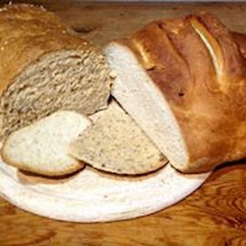 Homemade breads always on offer with breakfast
