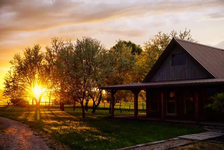 Quiet country cabin retreat