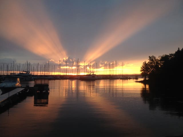Camp on Lake Champlain