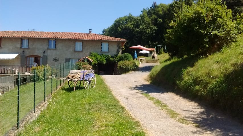 Monts du Lyonnais Le Gite de la Gaise - Saint-Genis-l'Argentière - House
