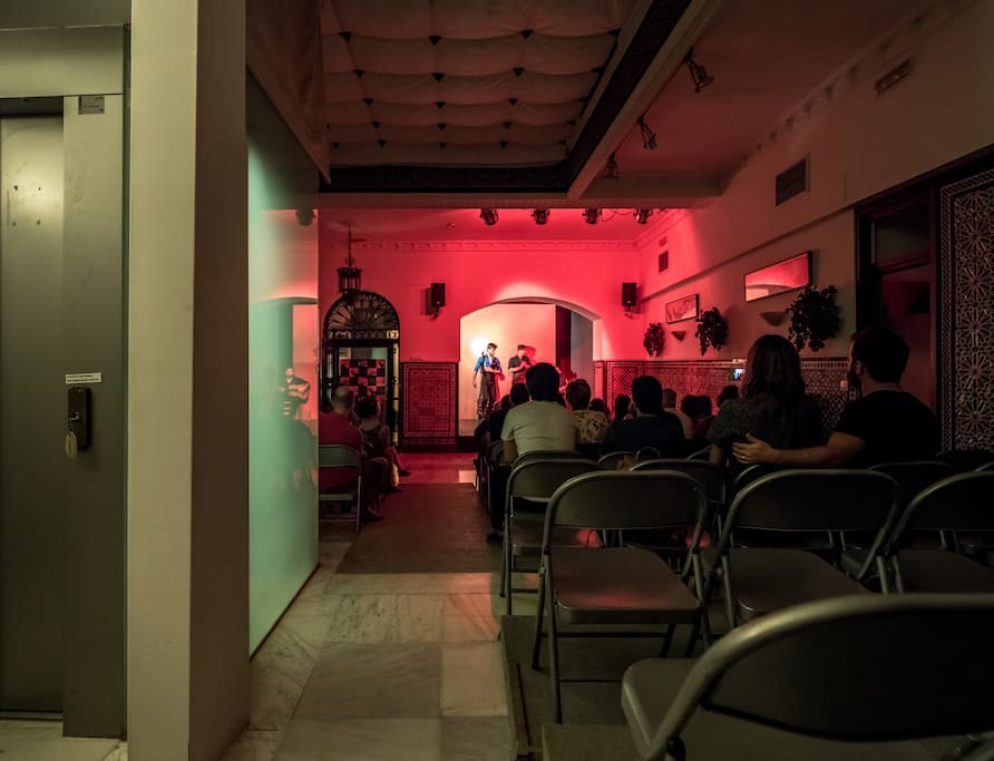 Free Flamenco show  for our guests  on ground floor