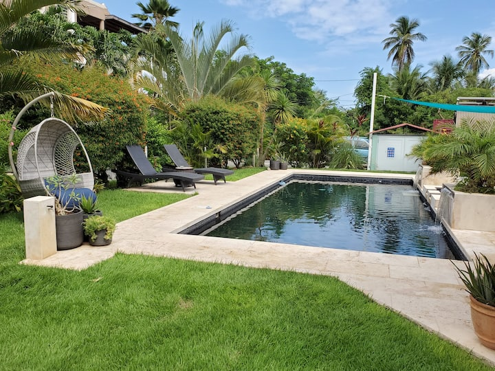 Campomar #1- 2BR House w/Pool, Walk to the Beach,