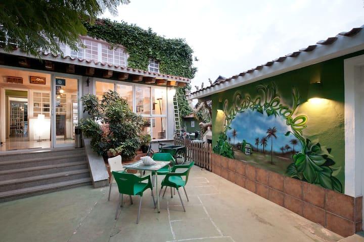 Habitación doble en La Casa Verde