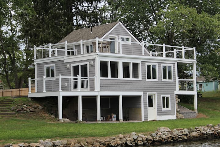 Waterfront home with amazing views - Stonington - House
