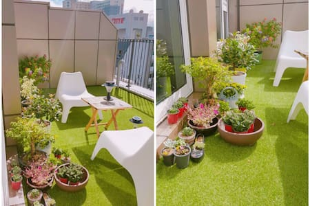 ((Dongdaegu station)) mini terrace house, 'Aloha' - Pis