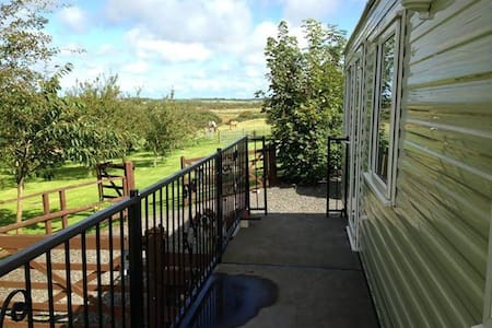 Caravan  place with a view Nr Rhosneigr Anglesey