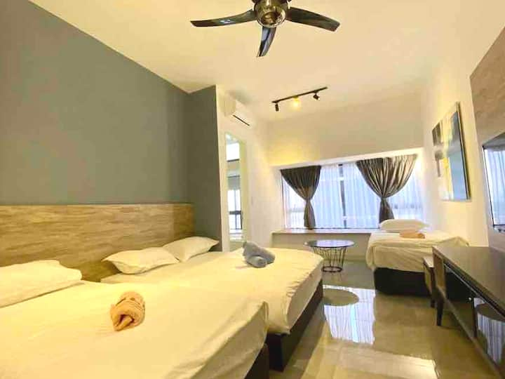 B2732/Seaview/5min to Jonker/Imperio/Studio/4pax