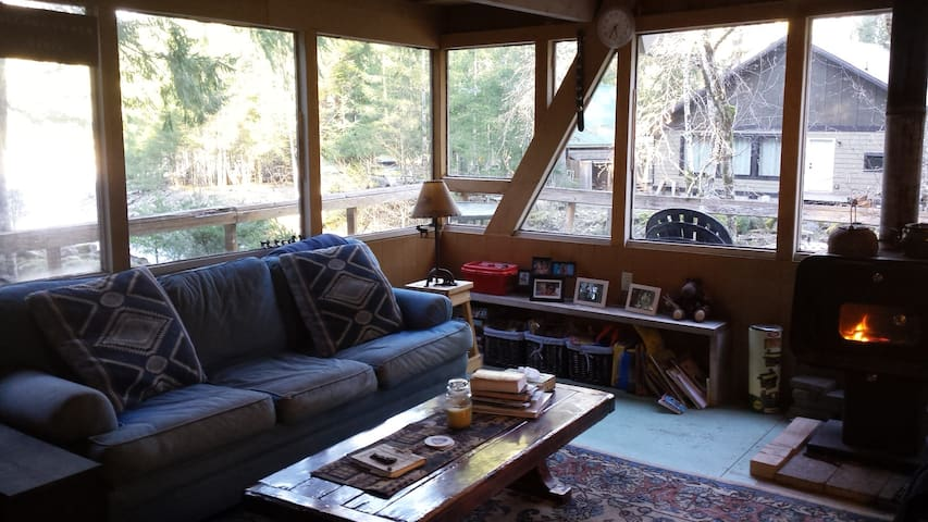 Cozy Coal Creek Cabin - Packwood - House