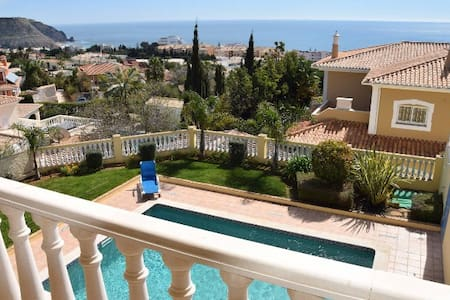 NEW - HOUSE WITH SEA VIEW & PRIV. POOL - Luz - Maison