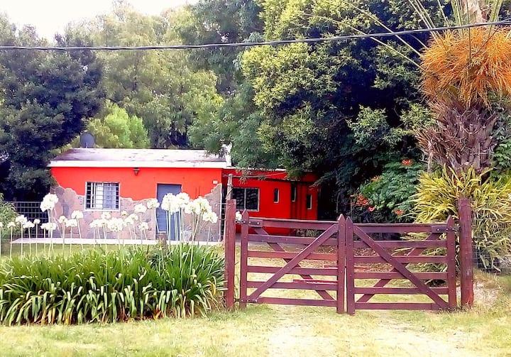 Casa confortable en balneario San Luis, Canelones.