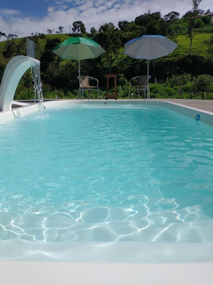Villa's Hortelã a tranquilidade e comodidade sua.