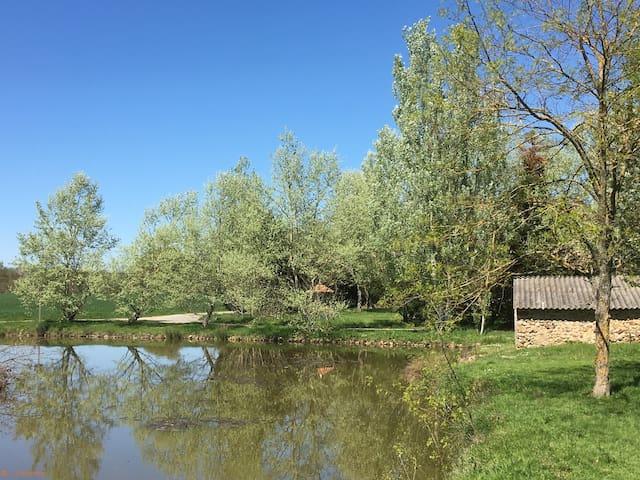 Gite Rural avec Piscine et Parc Canin