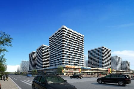 我和影都有个约会,欢迎来青岛看海 - Qingdao - Apartamento