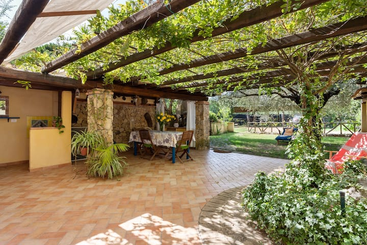 3 Independent Apartments in Villa Teresa with Terraces, Garden & Wi-Fi; Parking Available