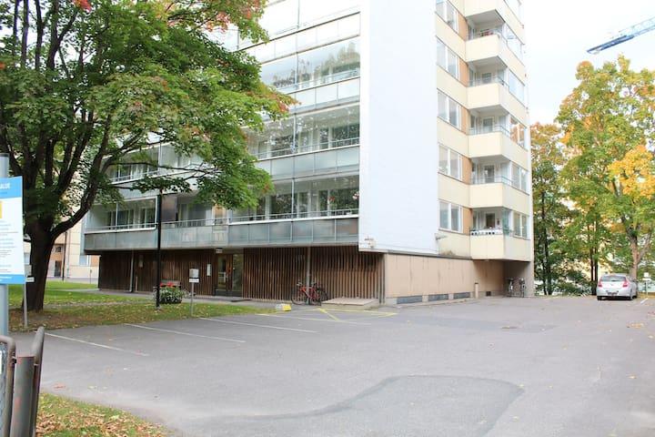One-bedroom apartment in Lahti city center - Vuorikatu 8
