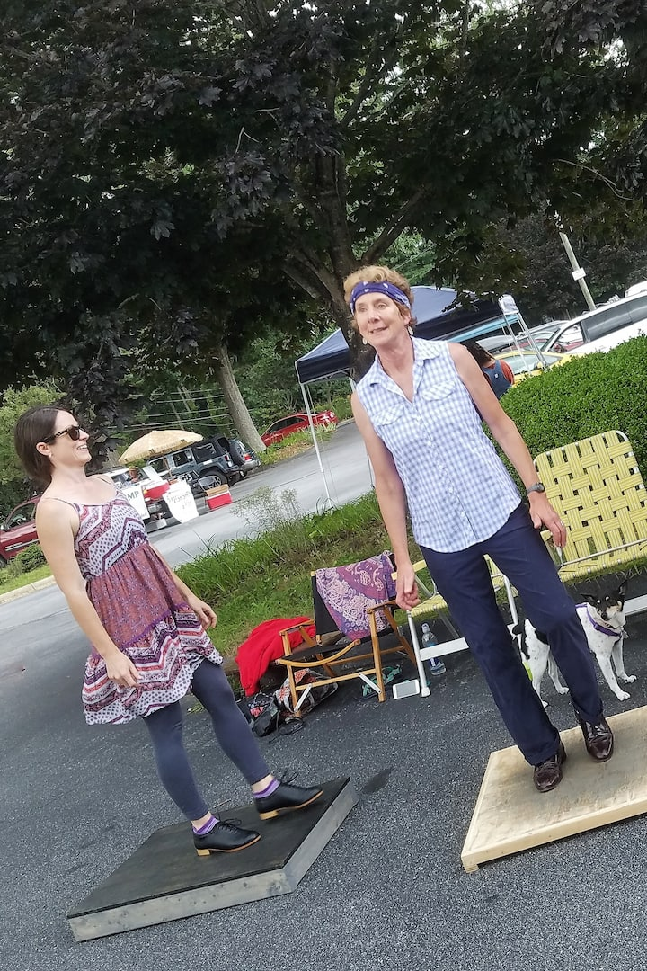 Students Freestylin'  at Farmer's Mkt