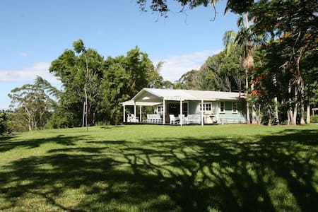 The Barn at Byron - main house. - Byron Bay