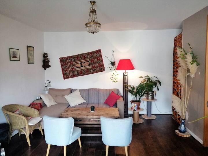 Jolie chambre dans appartement spacieux et calme