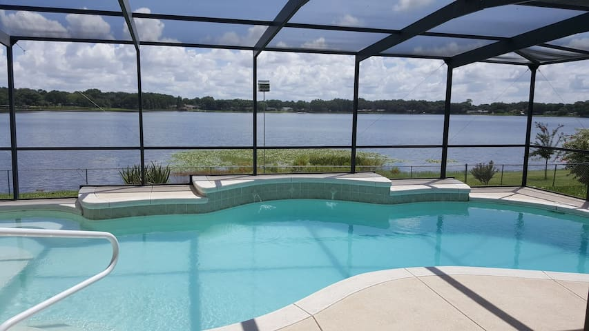 Sit back, relax, and enjoy this breathtaking lakefront view!