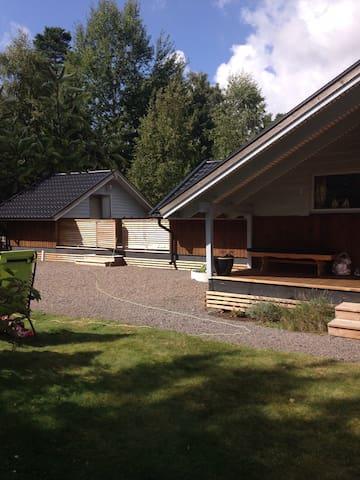 Mysigt hus nära hav och natur - Heberg - Maison