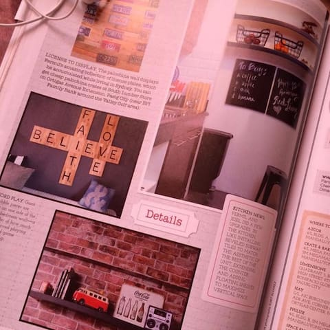 Our recent feature in Real Living Magazine :)