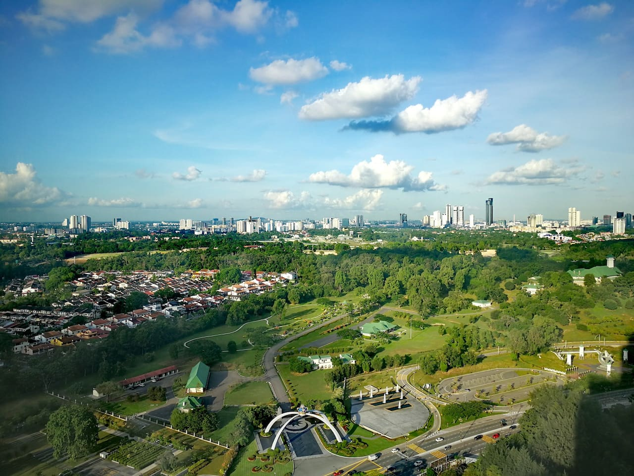 One of the most beautiful panorama view of JB City at level 35