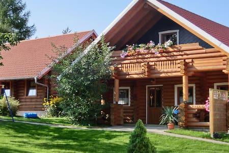 Exclusive holiday log cabin in Dankerode