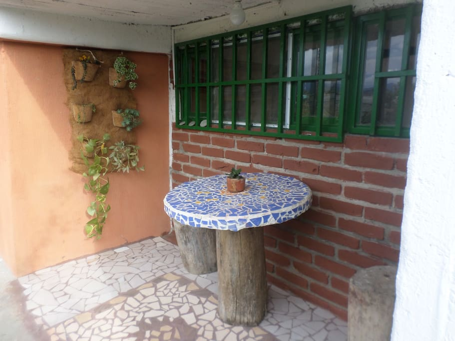 Terraza privativa
