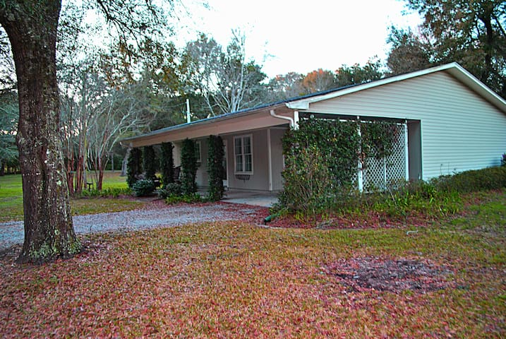 1.5 acre Sanctuary 2 miles from dtown & Mobile Bay - Fairhope - Hus