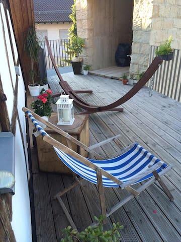 !Zimmer! im Landhaus-Luxus-Loft in Schlat - Schlat - Wohnung