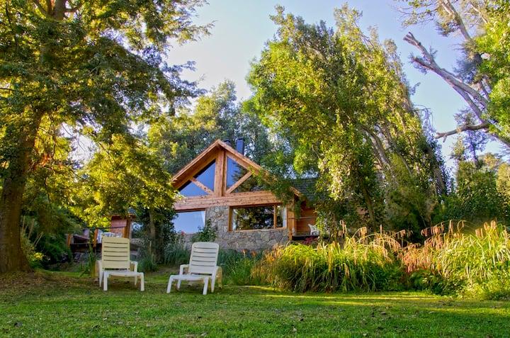Romantica casa de montaña !!