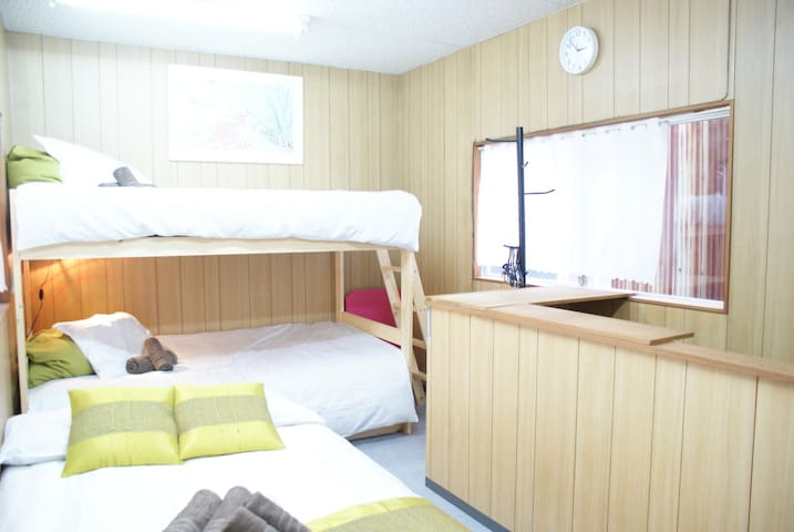 A side of Osaka Sta 3Beds for 4Pax+Free WIFI - Kita-ku, Ōsaka-shi - Appartement
