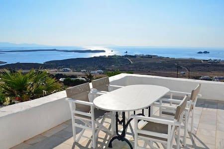 Beautiful sunset villa in Paros - Sarakiniko