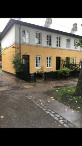 Cosy flat with a garden