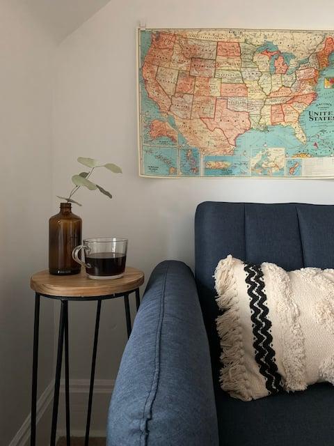 Cozy Studio Perfect for Weekend Getaway